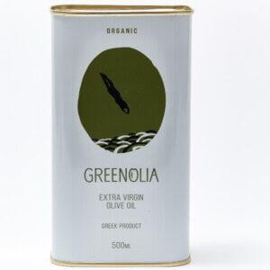 Organic Extra Virgin Olive oil 500ml Greenolia